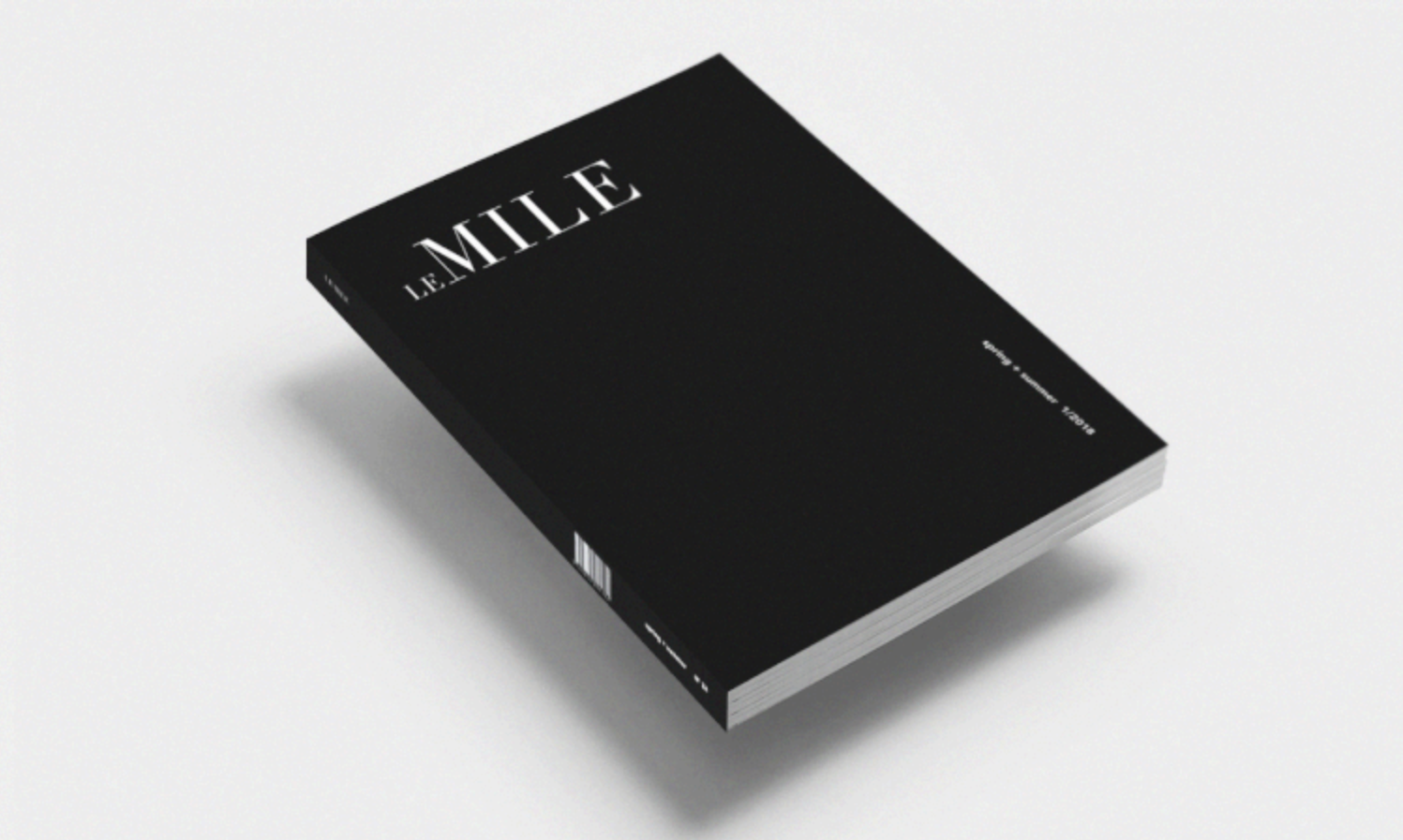 Le Mile Magazine Issue 24-January 2018 - We Love Colors