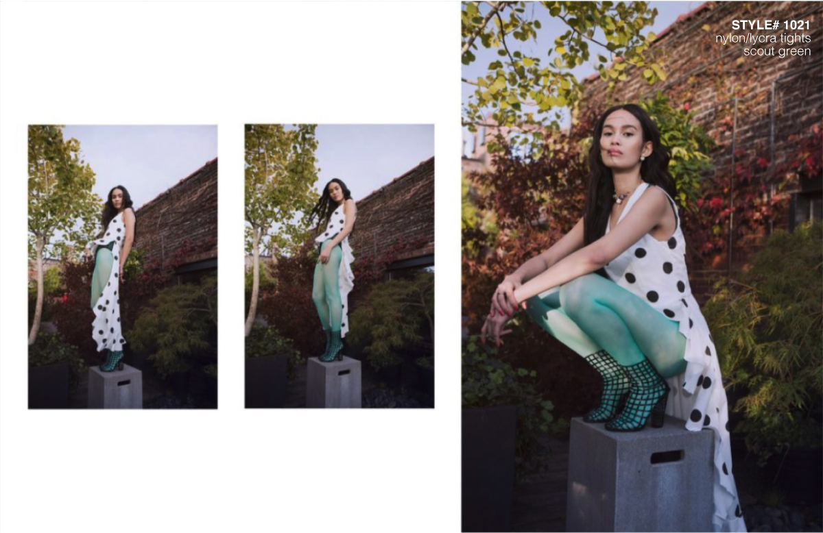 Ellements Magazine December 2018 Scout Green Tights