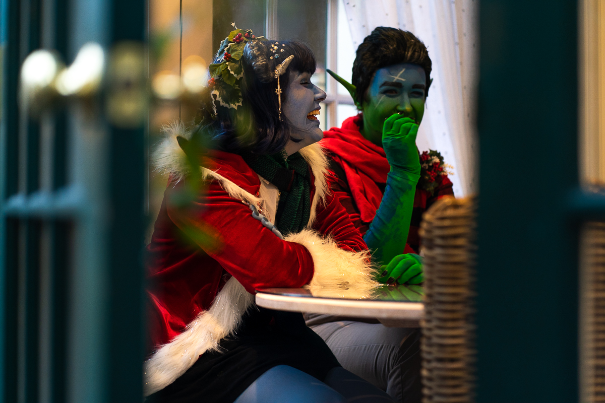 Holiday Cosplay Jester Fjord Critical Role 2