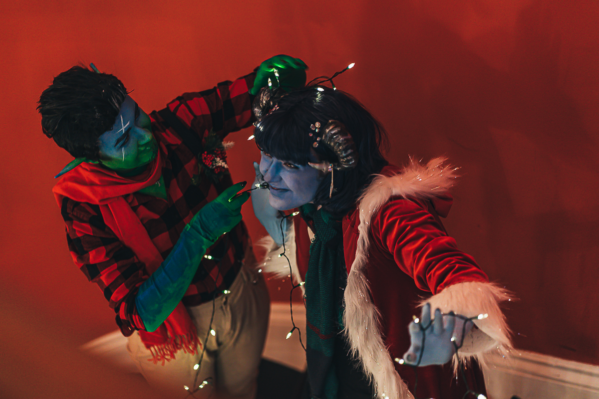 Holiday Cosplay Jester Fjord Critical Role 5