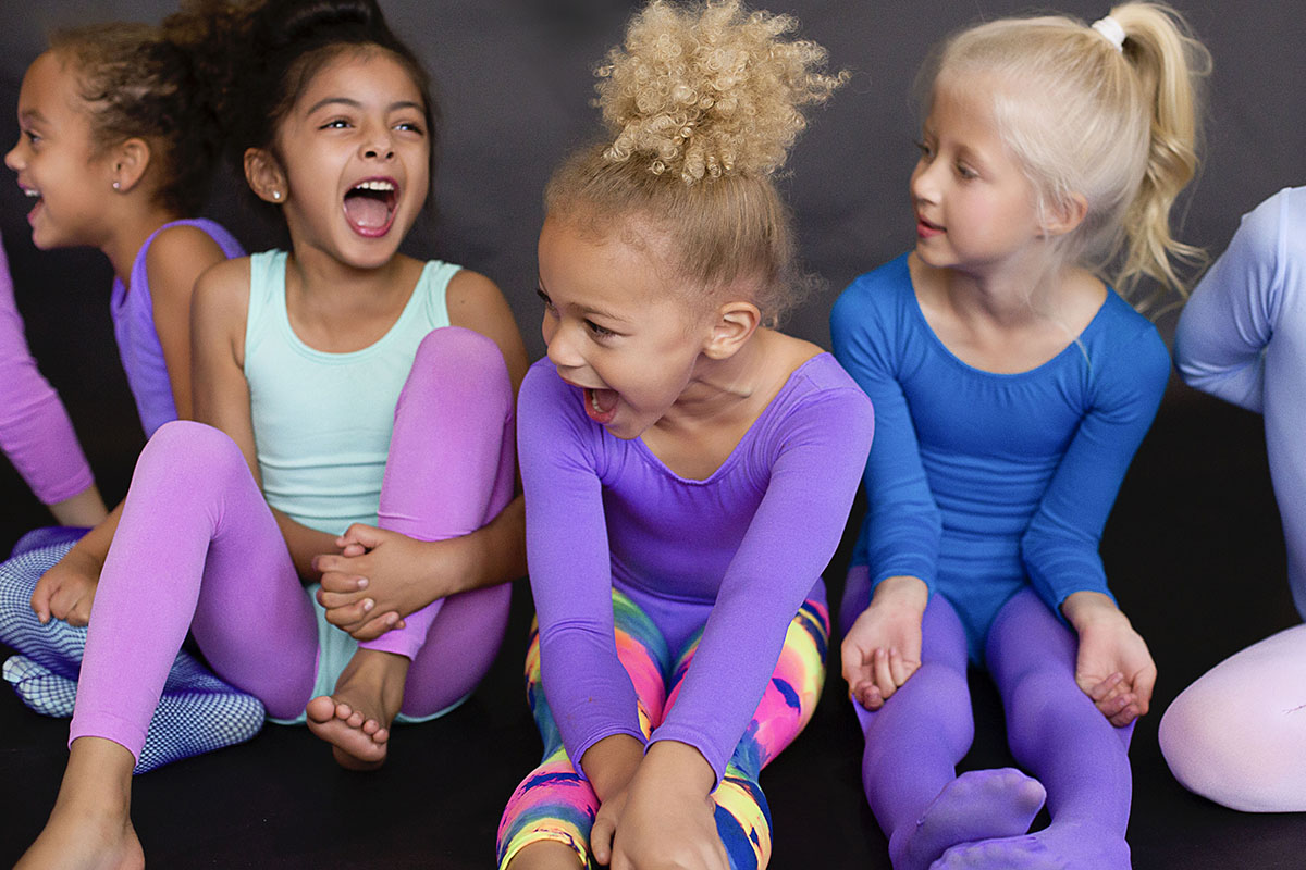 Colorful Dancewear, Kids Unitards And Leotards - We Love Colors