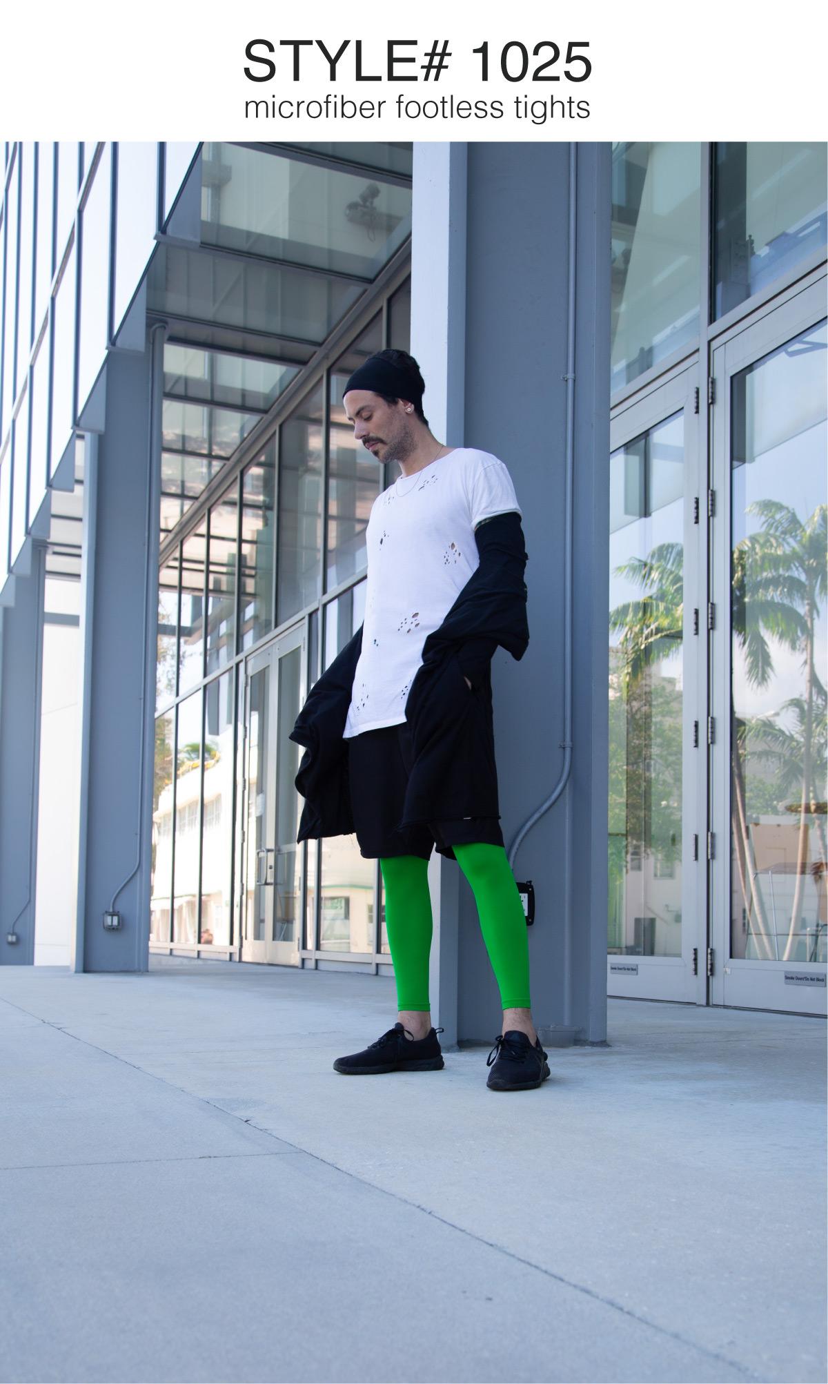 Men Colored Comfortable Tights 10