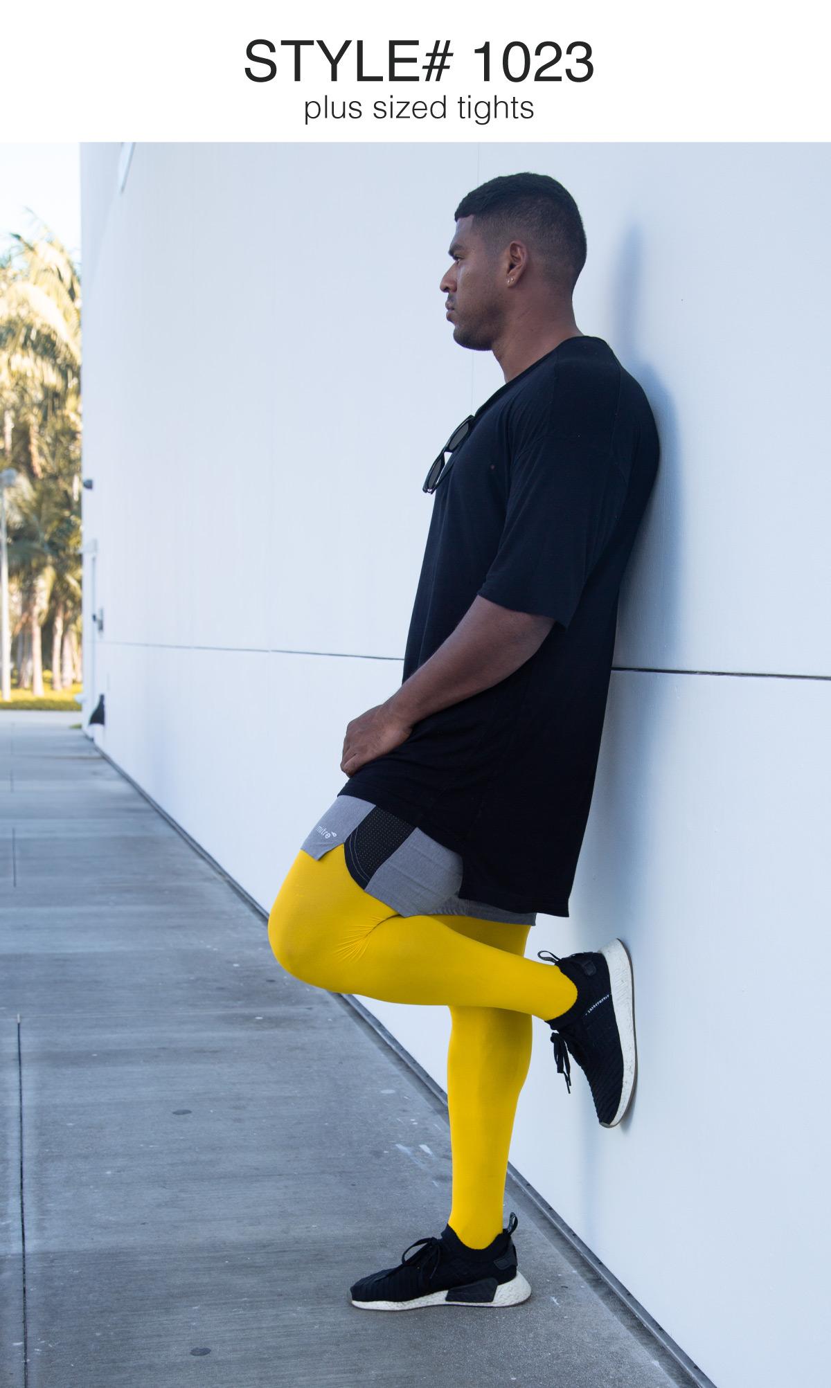 Men Colored Comfortable Tights 7