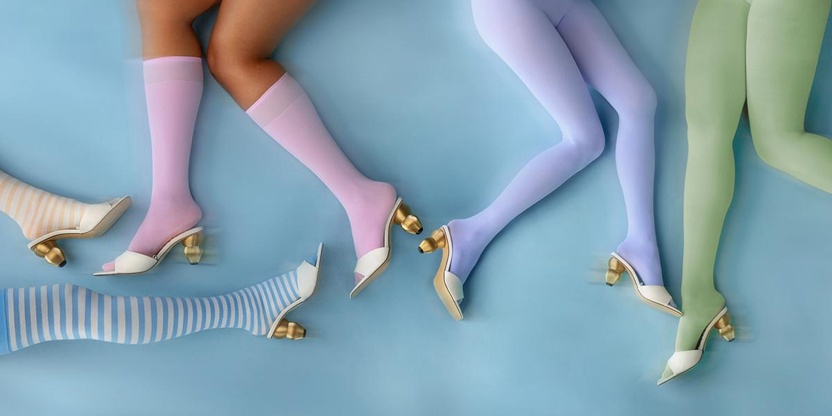 Pastel Colors Incorporate Wardobe
