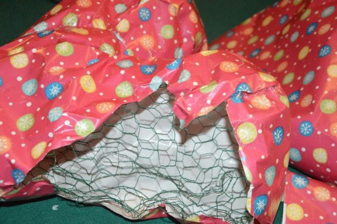 Patchwork Tights Heart Sculpture - Inspired By We Love Colors (1)
