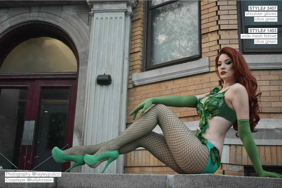 Poison Ivy Cosplay Costume Green