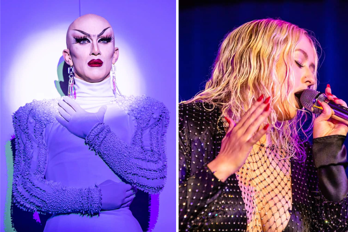 Sasha Velour Open Ceremony 2018 Drag Queen Color Socks 2