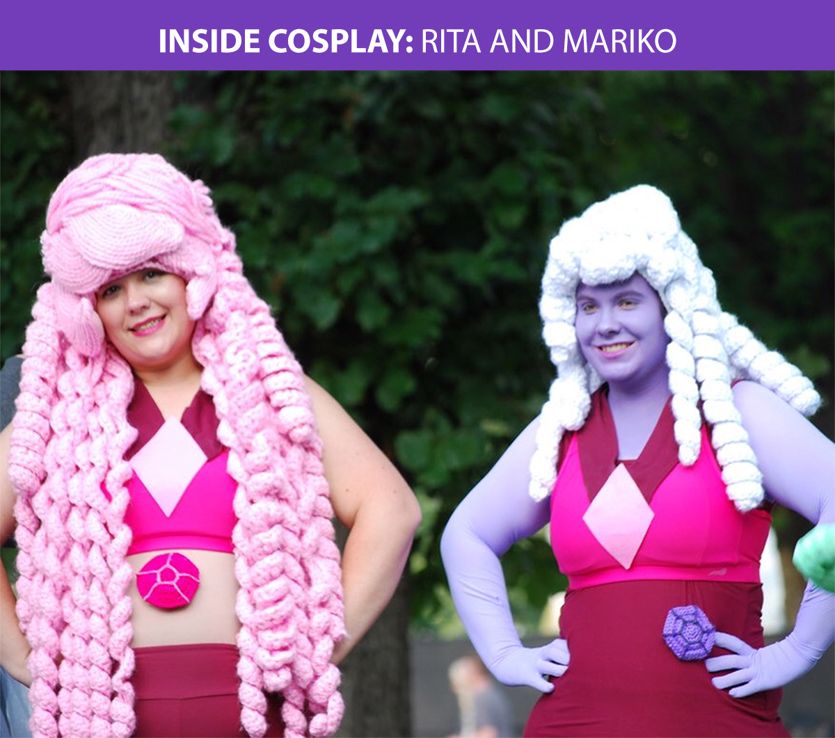 Inside Cosplay: Crocheting Costumes By Rita And Mariko - We Love Colors
