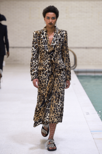 Area Nyfw Fall 2018 Style 1405 Brown Embellished