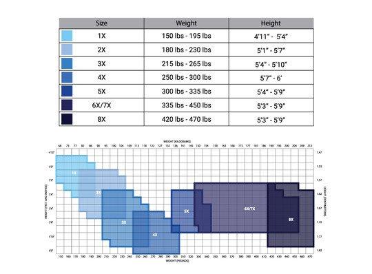 hosiery size chart