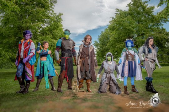 Critical Role Group Cosplay