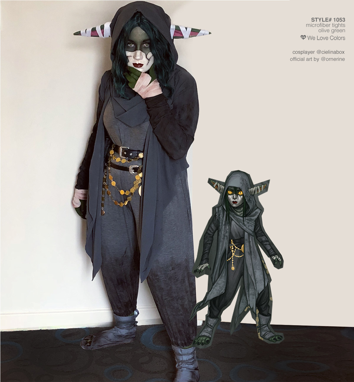 Critical Role Nott The Brave Cosplay Official Art Ariana Orner 1