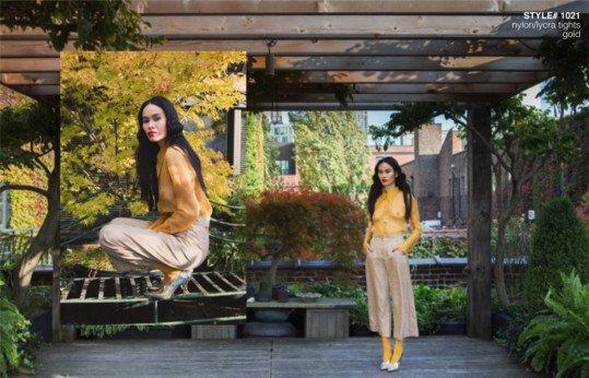 Ellements Magazine December 2018 Gold Tights