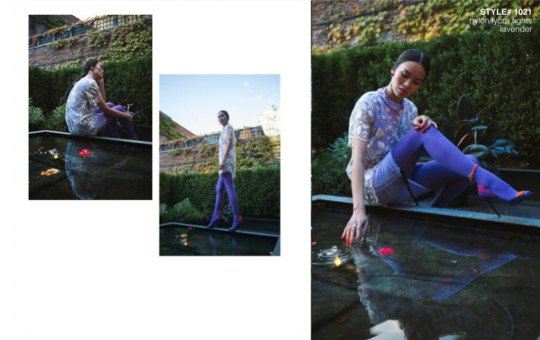 Ellements Magazine December 2018 Lavender Tights