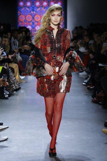 Gigi Hadid Style 1401 Red