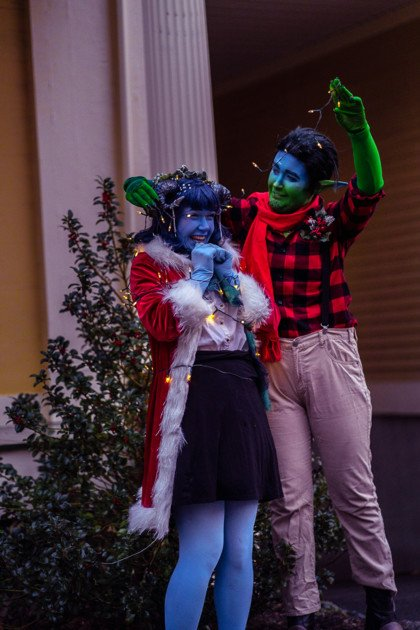 Holiday Cosplay Jester Fjord Critical Role 6