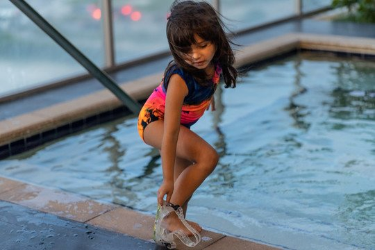 Kids Splash Tank Leotard Swimsuit