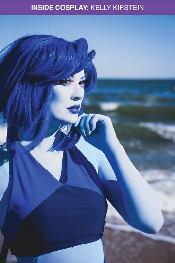 Lapis Blue Beach Cosplay Costume