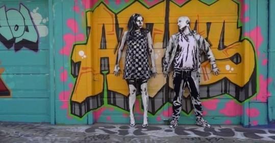 Living Street Art - Alexa Meade - We Love Colors 1