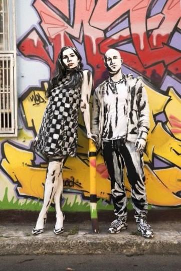 Living Street Art - Alexa Meade - We Love Colors 3