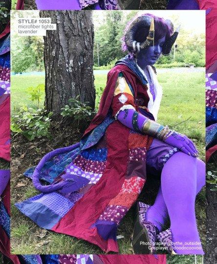 Mollymauk Armsocks Tights Welovecolors Lavender