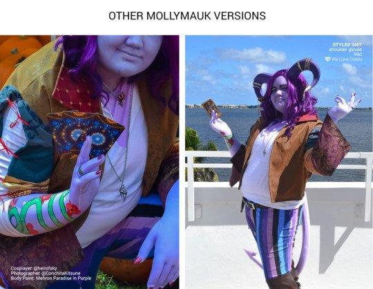 Mollymauk Cosplay Welovecolors Gloves 1