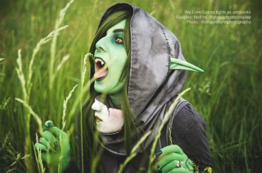 Nott Cosplay Welovecolors Armsocks Contest