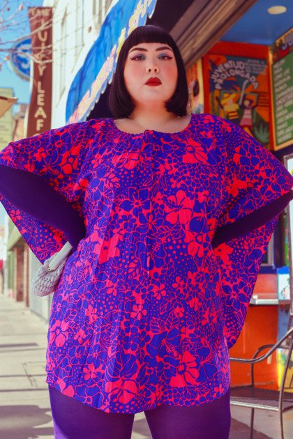 Plus Size Fashion Lookbook Welovecolors Proud Mary 2