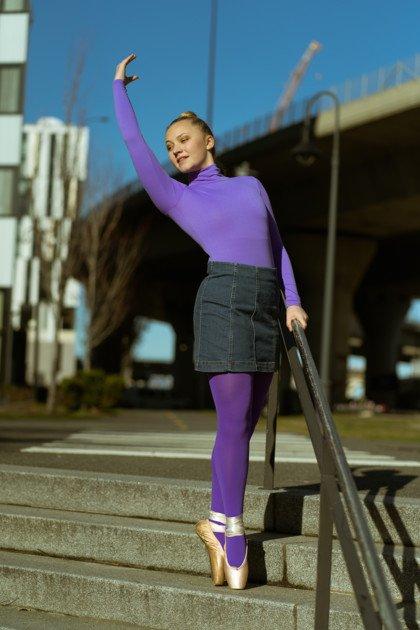 purple-dance-tights-ballerina-city-crosswalk