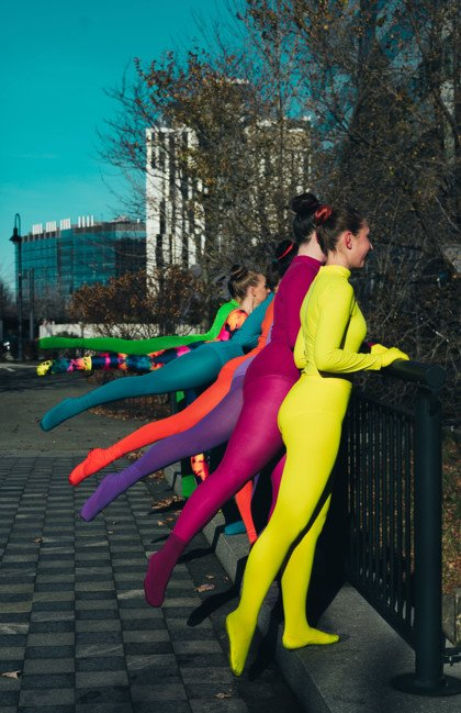 Dance Tights In Rainbow Colors - We Love Colors
