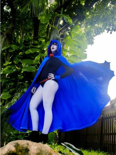 Raven Royal Fabric Teen Titans