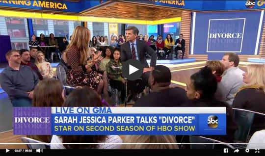 sarah jessica parker on good morning america