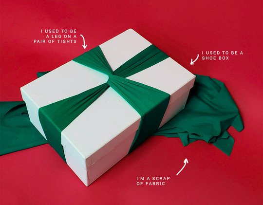 Sustainable Wrapping Presents Ideas