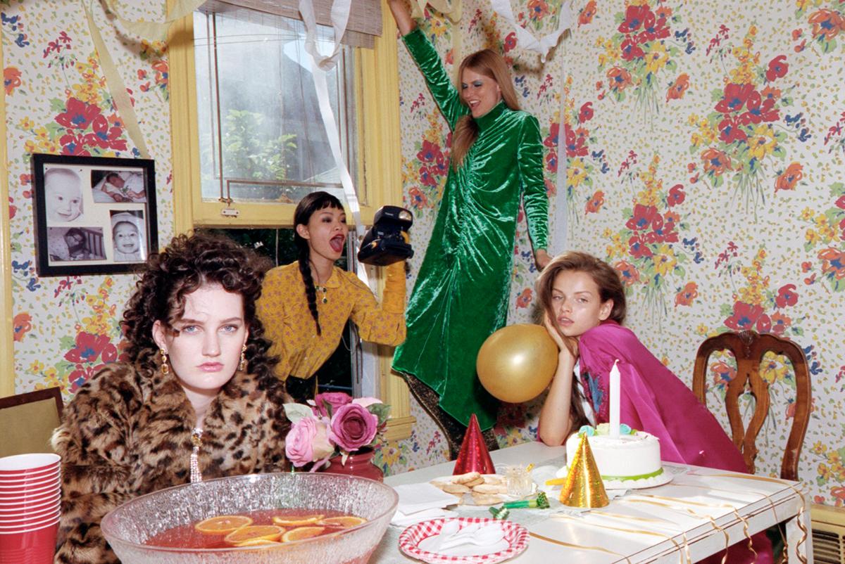 Vogue Italia Lurex Glitter Tights