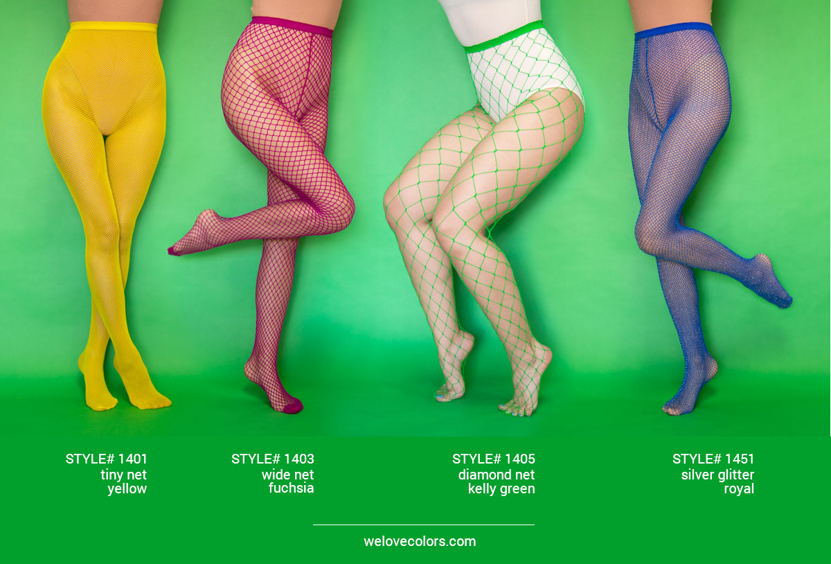 We Love Colors Fishnets Tights