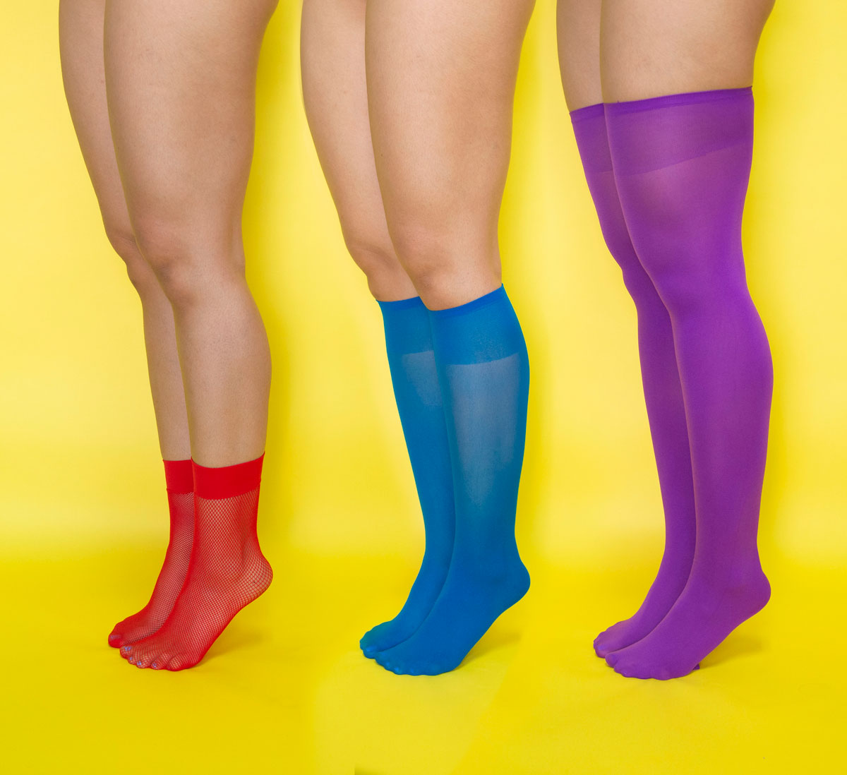 We Love Colors Socks Knee Highs Thigh Highs Cover