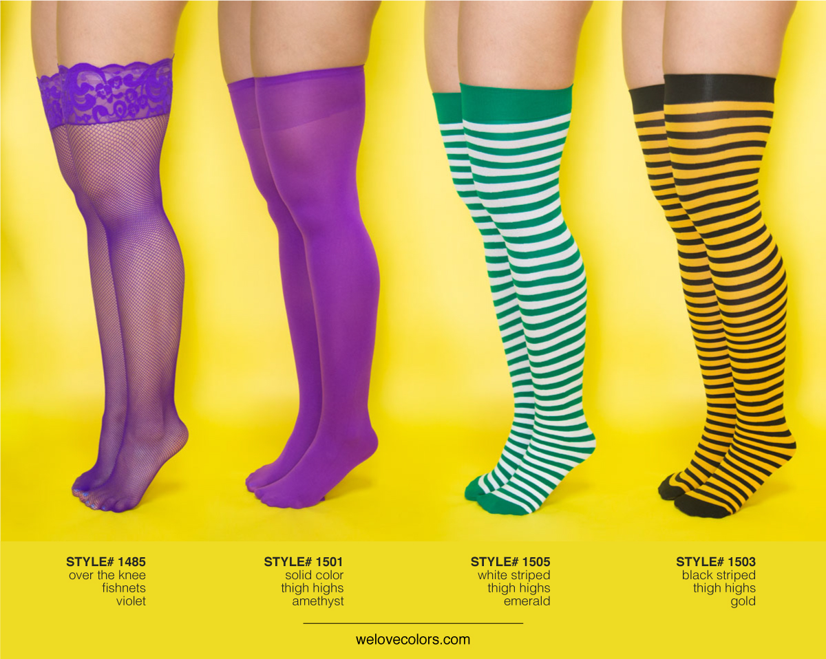 We Love Colors Thigh Highs 3