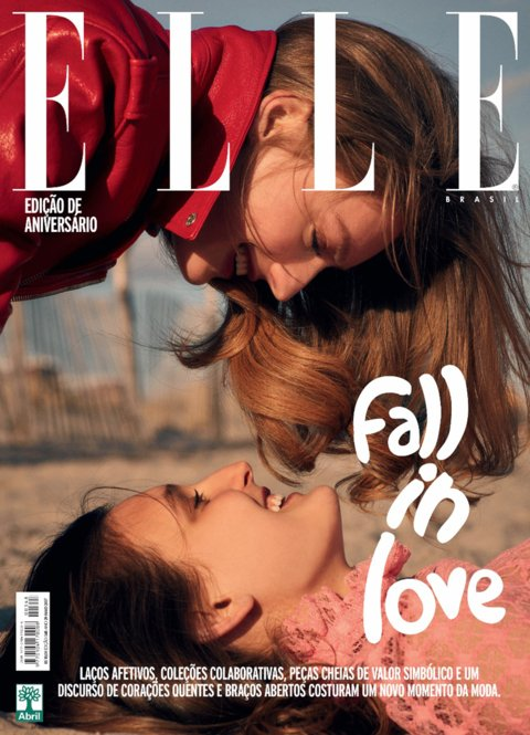 5D6a6 Elle Brazil Cover May 2017