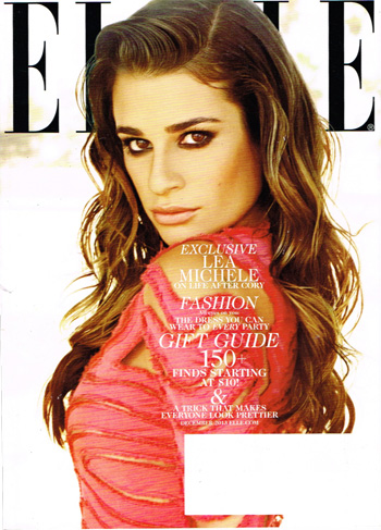 Elle December 2013 Cover