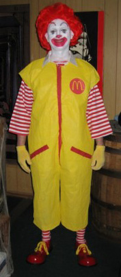 mc dees costume