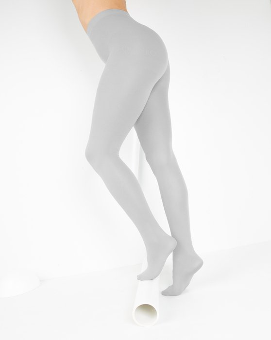 Light Grey Nylon Spandex Tights Style# 1023 | We Love Colors