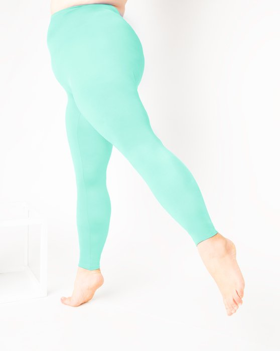 1047 W Pastel Mint Tights