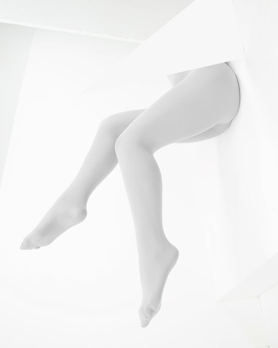 Light Grey Microfiber Nylon/Lycra Tights