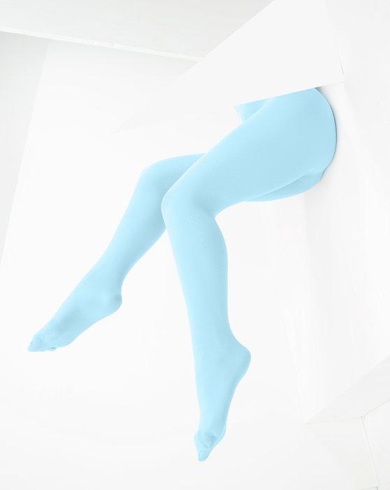 Aqua Microfiber Nylon/Lycra Tights Style# 1053 | We Love Colors