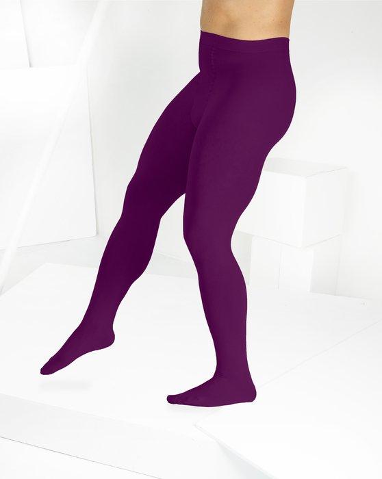 Rubine Microfiber Nylon/Lycra Tights Style# 1053 | We Love Colors