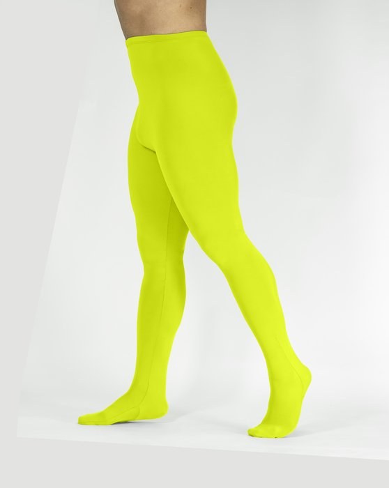Yellow Performance Tights