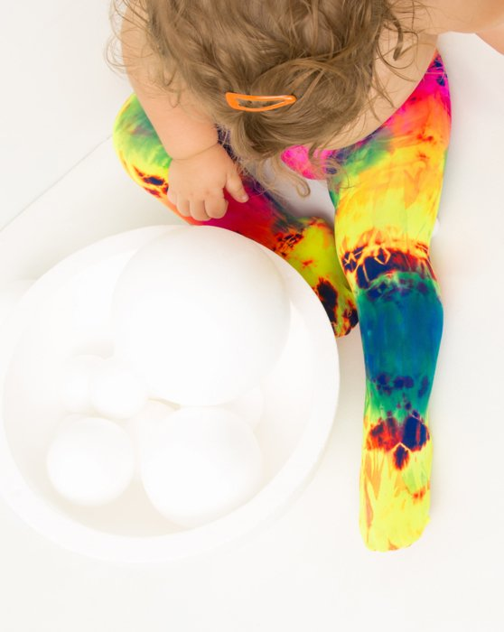 7411 Kids Nylon / Spandex Tights Style# 1073   We Love Colors