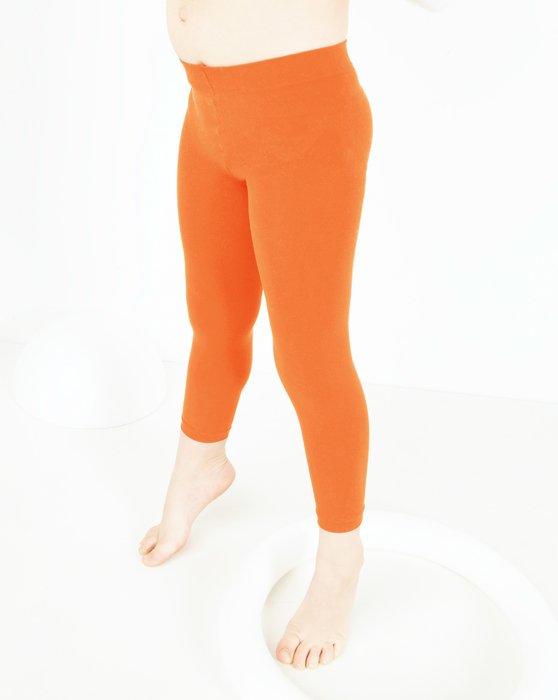 Orange Kids Microfiber Footless Tights Style# 1077 | We Love Colors