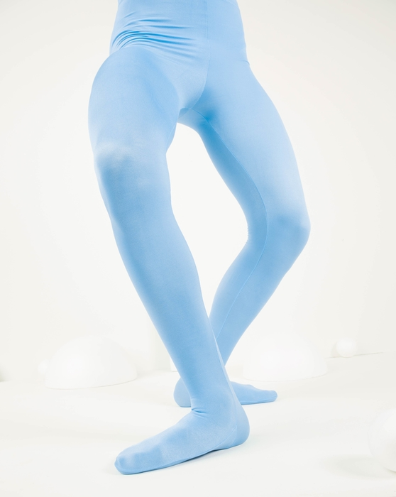 Baby Blue Kids Performance Tights