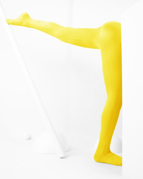 Yellow Kids Performance Tights